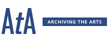 Archiving the Arts logo.
