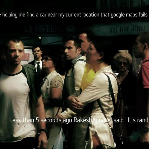 Screenshot of 'Waiting' (2007) by Grégory Chatonsky. Credits:chatonsky.net.