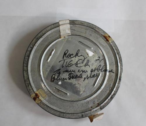 Afbeelding 5. Roestvlekken op het filmblik.