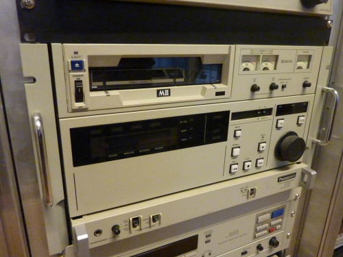 A MII tape player at the Austrian Mediathek. Photo: PACKED vzw.