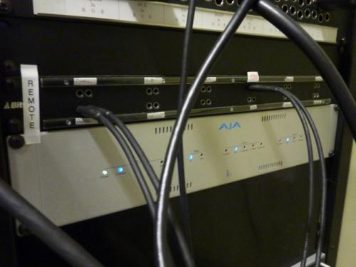 A Aja Kona capture card at BAVC. Photo: PACKED vzw.