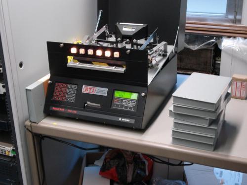 Een RTI-reinigingstoestel voor videocassettes. Foto: PACKED vzw.
