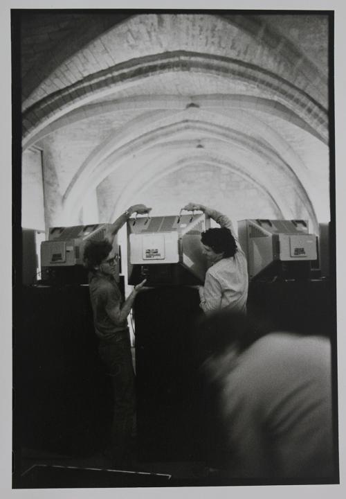 Installation of 'A las cinco de la tarde'. Picture:Marie-Jo Lafontaine.