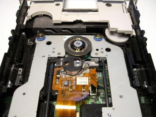 SCSI internal CD writer and reader. Picture: Wikimedia commons.