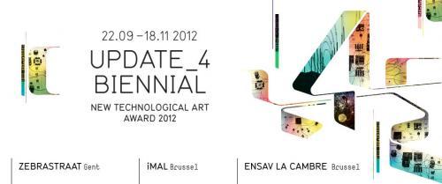 L'affiche: Update_4 Biennal.