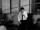 Jacques Charlier, Rocky Tiger, 1971, 16mm film, zwart/wit, mono geluid, 3 min. 48 sec.